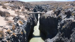 Canyon in Salta province. Stock Footage