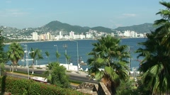 Acapulco Bay. Mexico. Stock Footage