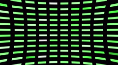 Green Blinking Led Lights Stock Footage