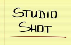 Studio Shot Concept - stock illustration