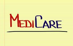 Medicare Concept - stock illustration