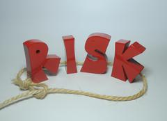 Risk management and control - stock photo