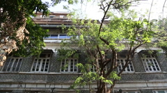 Residence of Mahatma Gandhi in Mumbai. Stock Footage