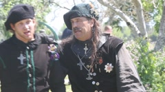 Scottish Tartan Festival Stock Footage