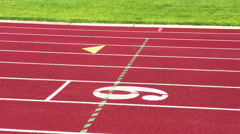 A sports themed video highlighting popular activities such as track, tennis, ... Stock Footage