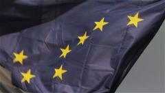 Ragged Alaska State Flag Shows All Stock Footage