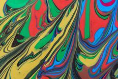 oil paint - stock photo