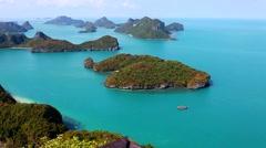 Thailand islands summer asia Stock Footage