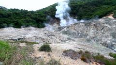 Saint Lucia Sulphur Springs Volcano - stock footage