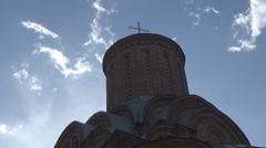 The ancient Orthodox Church Stock Footage