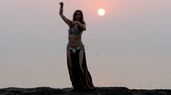 Belly dance Stock Footage