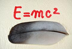 Energy equation Stock Photos