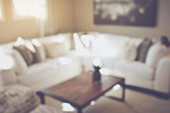 Blurred Living Room with Couches applying Retro Instagram Style Filter Kuvituskuvat