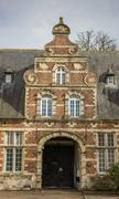 Old building of the Park abbey near Leuven - stock photo
