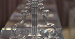 Kartell, Bourgie Lamp, designed by Ferruccio Laviani 3 Stock Footage