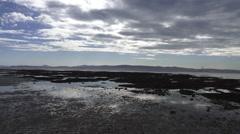 Dublin Ireland Coastline Sunny View Stock Footage