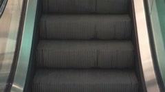 Escalator mall generic Stock Footage