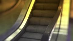 Escalator side Stock Footage