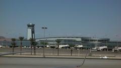 Las vegas airport Stock Footage