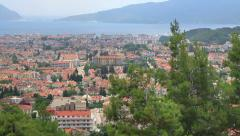 Marmaris, Turkey. Urban density. High view, static shot Stock Footage