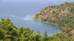 Hiking tour and extreme nature trekking in Turkey Stock Footage