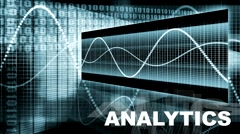 Analytics with System Endless Loop Stock Footage