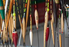 Chinese Fishing Floats - stock photo