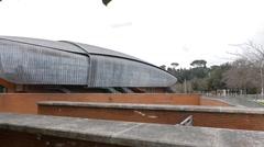 Auditorium Parco della Musica Rome, Italy Stock Footage