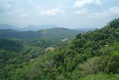 Sri Lanka landscape - stock photo