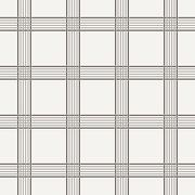 Vector seamless pattern of interwoven lines - stock illustration