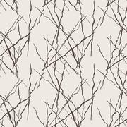 Seamless pattern of lines drawn by brush and ink Stock Illustration