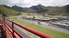 Champ de Mars Racecourse in port louis Stock Footage