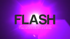 Flash Light Transition (7 in 1) Stock After Effects