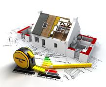 Energy efficient construction Piirros