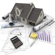Home purchase - stock illustration