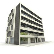 Modern apartment building Stock Illustration