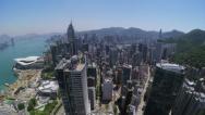 Stock Video Footage of City Aerial 4K Hong Kong