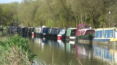 Kennet & Avon canal 08 Stock Footage