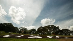 Clouds Timelapse at the USM Campus in Penang Stock Footage