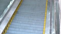 Escalator going up 4k Stock Footage