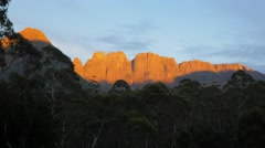 acropolis and mt geryon - stock footage