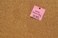 Memo: World Malaria Day Stock Photos