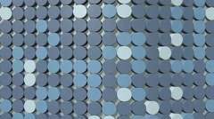 A background of moving blue circles - stock footage