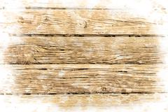 wooden pier - stock illustration