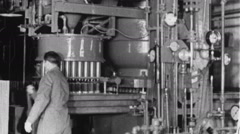Auto FACTORY WORKER Spark Plug 1930s Vintage Retro Industrial Film Footage 8083r Stock Footage