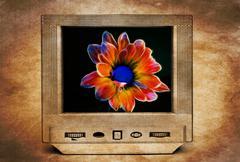 Fractal flower on TV Kuvituskuvat