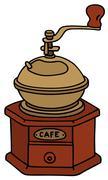 Coffee grinder Stock Illustration