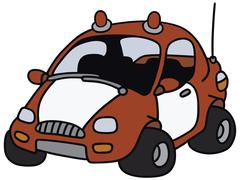 Stock Illustration of Fire patrol car