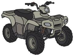 Military ATV - stock illustration