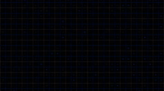 Digital Grid Background Blue - stock footage